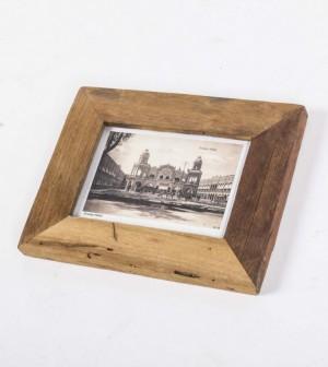 Bilderrahmen aus Massivholz, Holz Bilderrahmen , Maße 15 x 22 cm