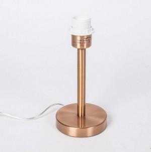 Lampenfuß für eine Tischleuchte, Farbe Kupfer, Höhe 26 cm