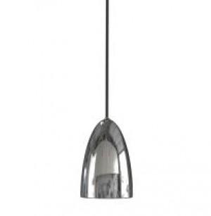 Pendelleuchte Metall PVC chrom LED