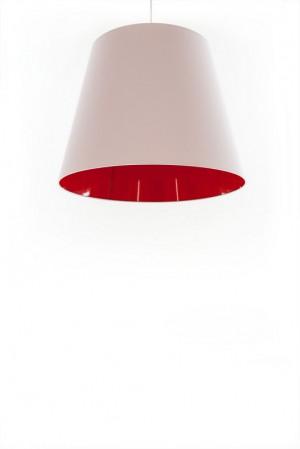 Design-Pendelleuchte, moderne Pendellampe in fünf  verschiedenen Farben, 40 cm