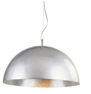 Moderne Pendelleuchte Kuppel, in Farbe Silber-Silber, Durchmesser 250 cm