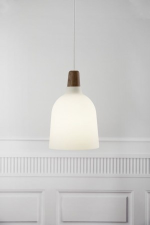 Moderne Pendelleuchte, Hängeleuchte, Farbe beige/ sand, braun, Ø 20 cm