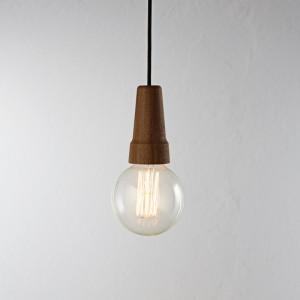 Moderne Pendelleuchte, Hängeleuchte, Farbe braun, Ø 12,5 cm