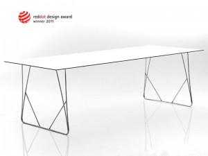 Tisch, Konferenztisch,  Esstisch,  Gartentisch für In & Outdoor geeignet, Länge 240 cm