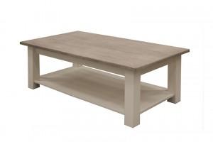 Couchtisch weiß Landhaus, Tisch weiß, Breite 135 cm