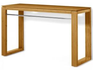Waschtisch Massivholz, Waschtisch Unterschrank für Aufsatzbecken, Breite 130 cm