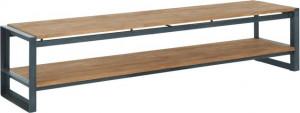 Lowboard Industrie, TV Schrank im Industriedesign, Breite 180 cm