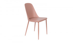Stuhl rosa, Stuhlbeine rosa