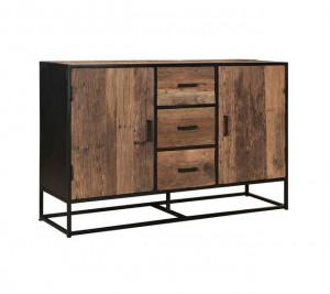 Sideboard Industriedesign, Sideboard Metall-Gestell, Sideboard Industrie, Breite 150 cm