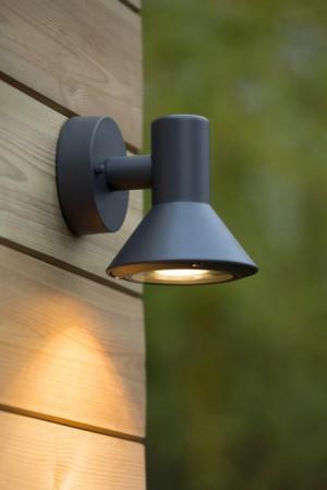 LED Außenleuchte anthrazit, LED Wandleuchte anthrazit,  LED Wandlampe anthrazit