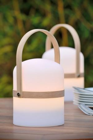 LED Tischlampe weiß, Außen-Tischleuchte weiß, LED Tischleuchten weiß