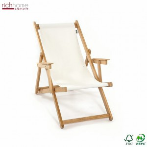 Liegestuhl weiß Holz Textil, Gartenliege weiß, Liege weiß Holzgestell
