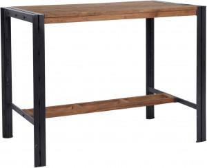 Bartisch Industrie Holz Metall, Bartisch Industriedesign Metall, Höhe 110 cm