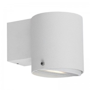 LED Moderne Badwandleuchte, Deckenleuchte, Farbe weiß, Ø 10 cm