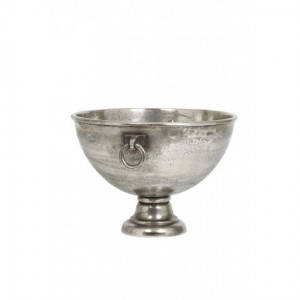 Sektkühler Nickel vintage, Weinkühler Durchmesser 53 cm