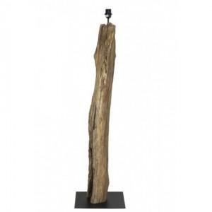 Stehlampe Holz, Lampenfuß Stehleuchte Altholz
