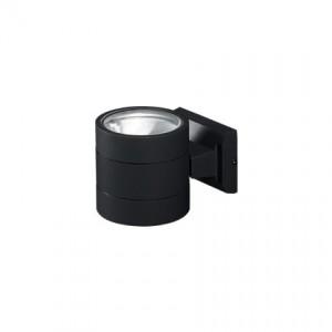 Outdoorleuchte Alu-Spritzguss schwarz Pirexglas transparent