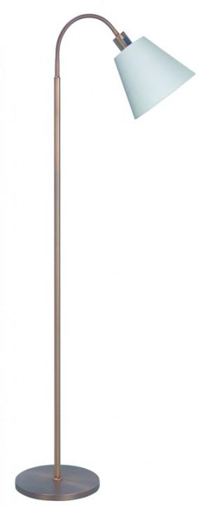 Stehlampe bronze - weiß modern Stehleuchte bronze - weiß