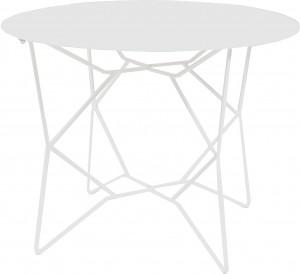 Design Beistelltisch in weiß