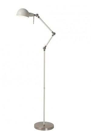 Stehlampe / Stehleuchte weiß, höhe 155 cm