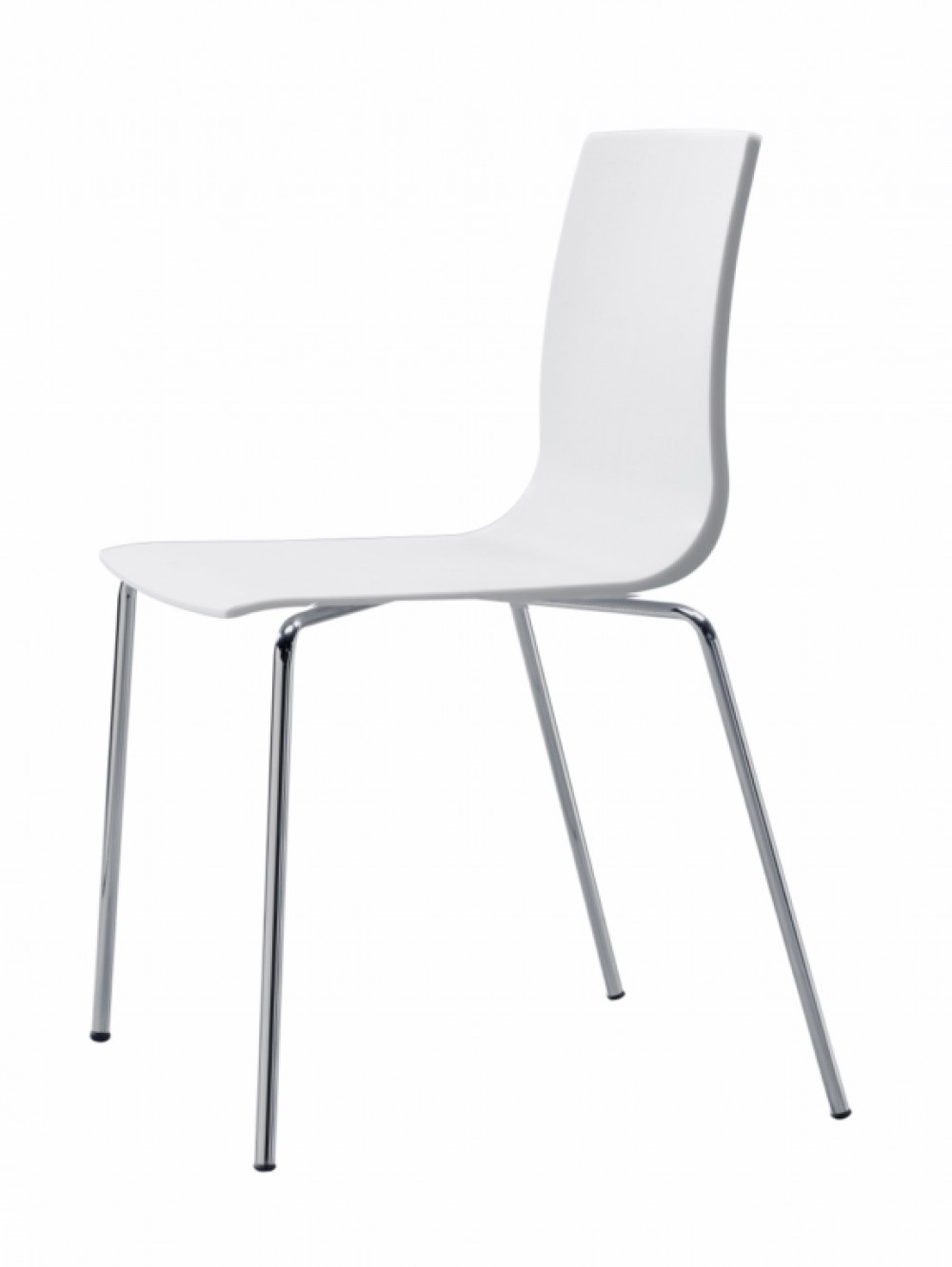Design Stuhl weiß leinen, Stuhl stapelbar weiß