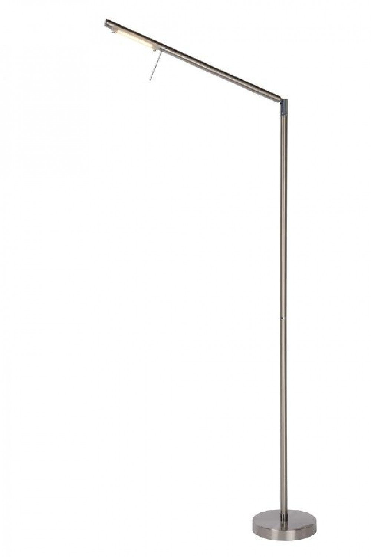 Stehleuchte Stehlampe Gebursted Chrom Hohe 171 50 Cm Led