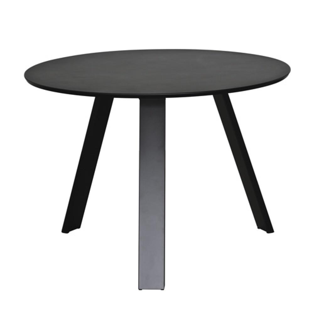 Tisch Rund Metallgestell.Moderner Tisch Rund Farbe Schwarz Metall Gestell
