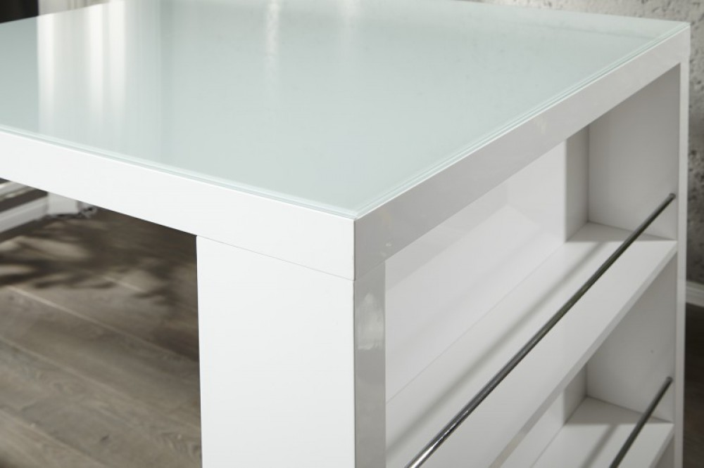 Bartisch Weiß Stehtisch Weiß Höhe 110 Cm