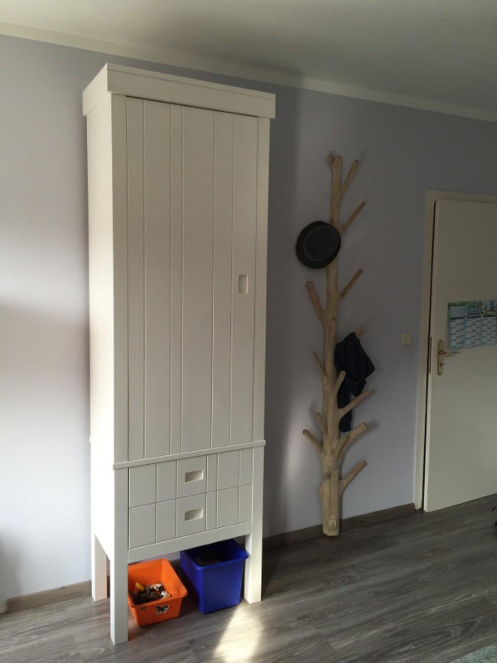Kinderzimmerschrank Weiß Schrank Weiß Massivholz Kleiderschrank