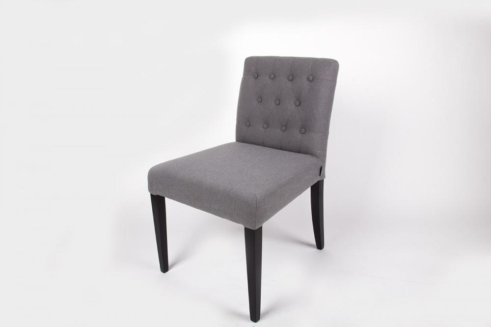 stuhl gepolstert farbe grau esszimmerstuhl st hle landhaus stil m bel. Black Bedroom Furniture Sets. Home Design Ideas