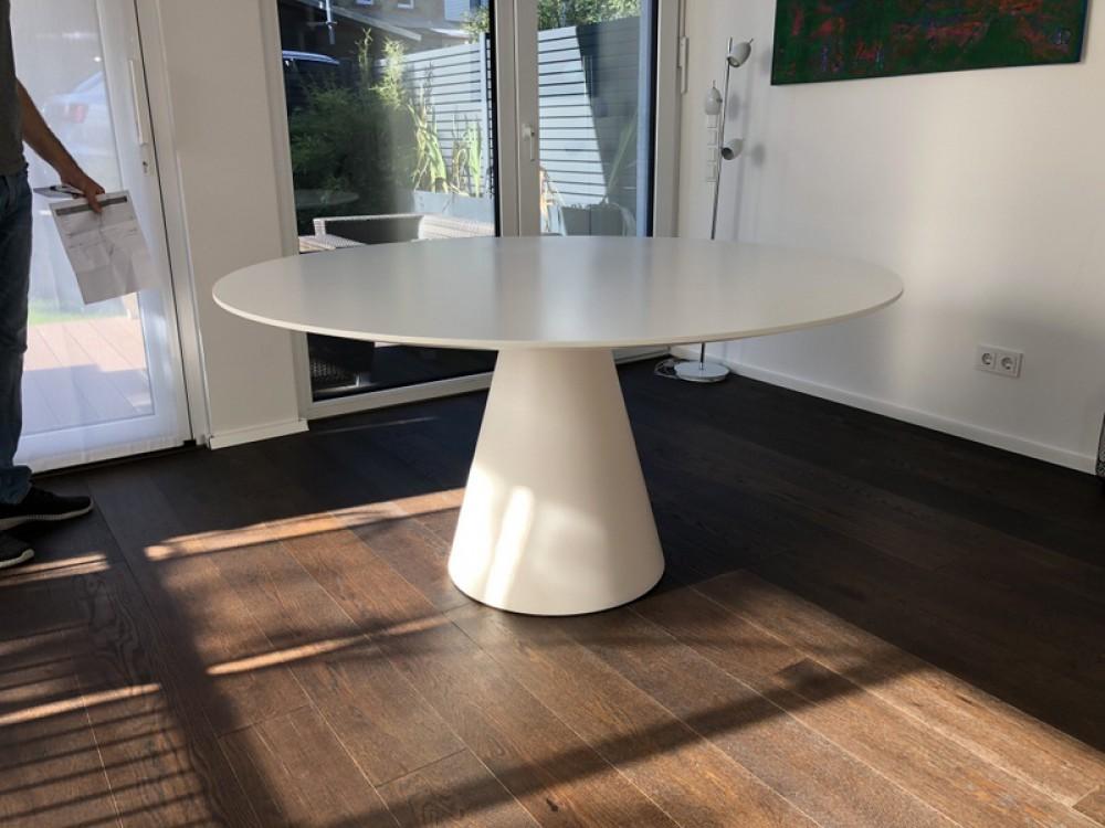 Esstisch Rund Modern Weiß Tisch Rund Tisch Weiß Rund Durchmesser