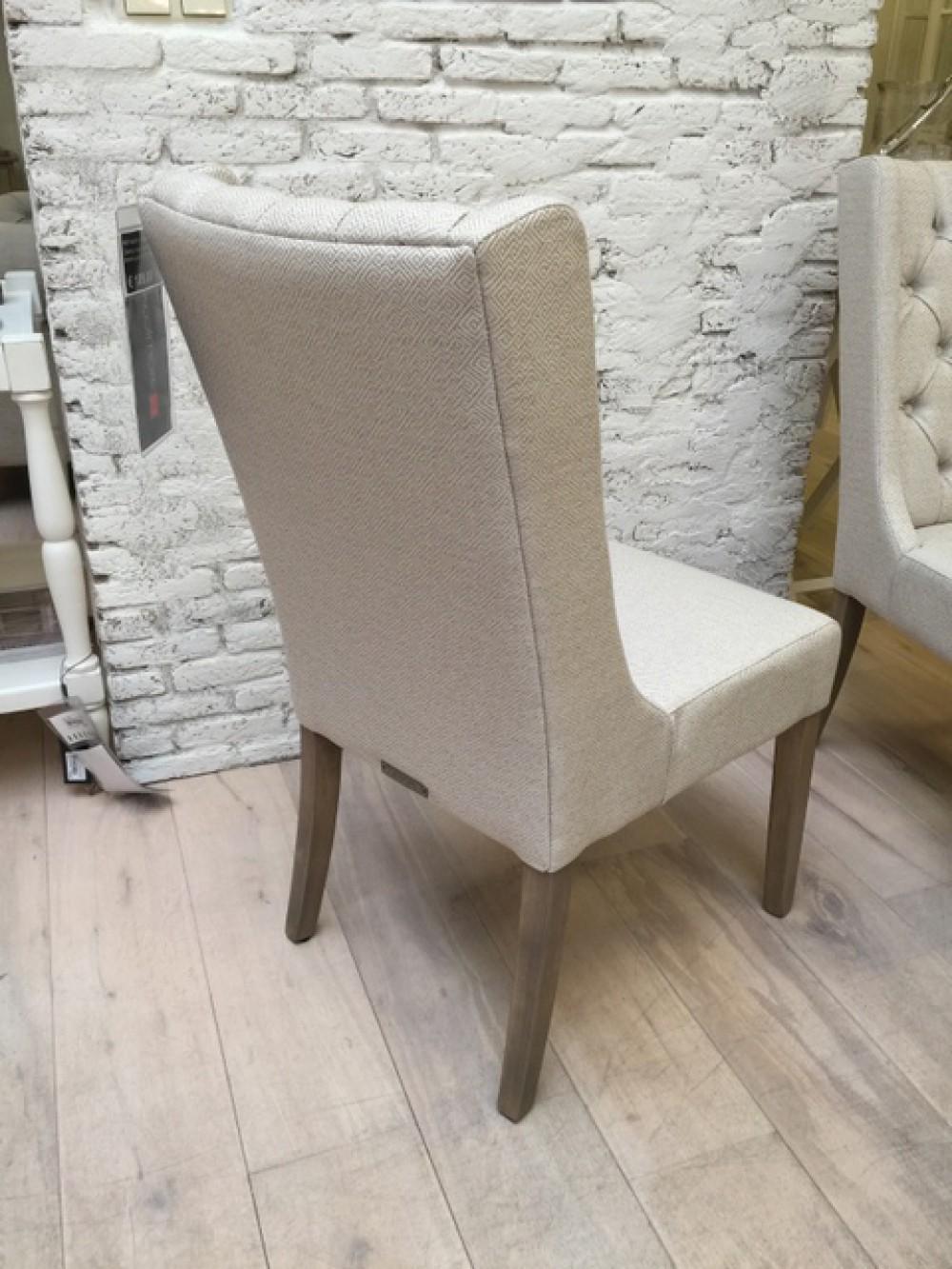 Stuhl gepolstert landhaus stuhl creme silber gepolstert for Stuhl gepolstert