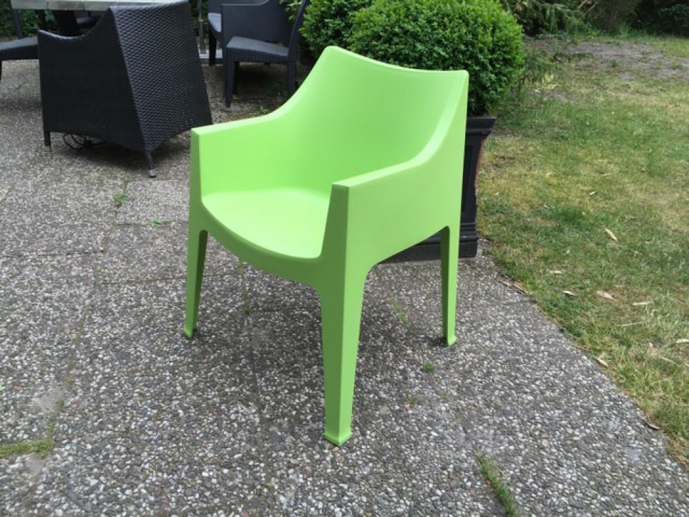Stuhl Grün Kunststoff Gartenstuhl Grün Stapelbar Outdoor Stuhl