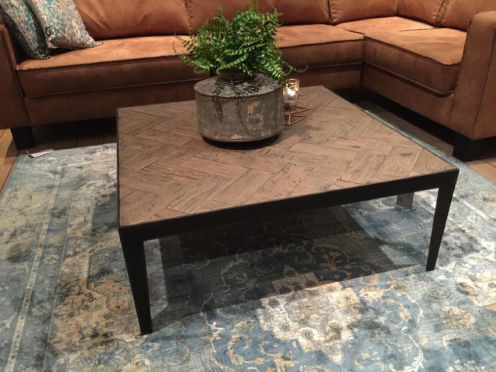 Couchtisch Quadratisch Metall Gestell Tisch Metall Industriedesign