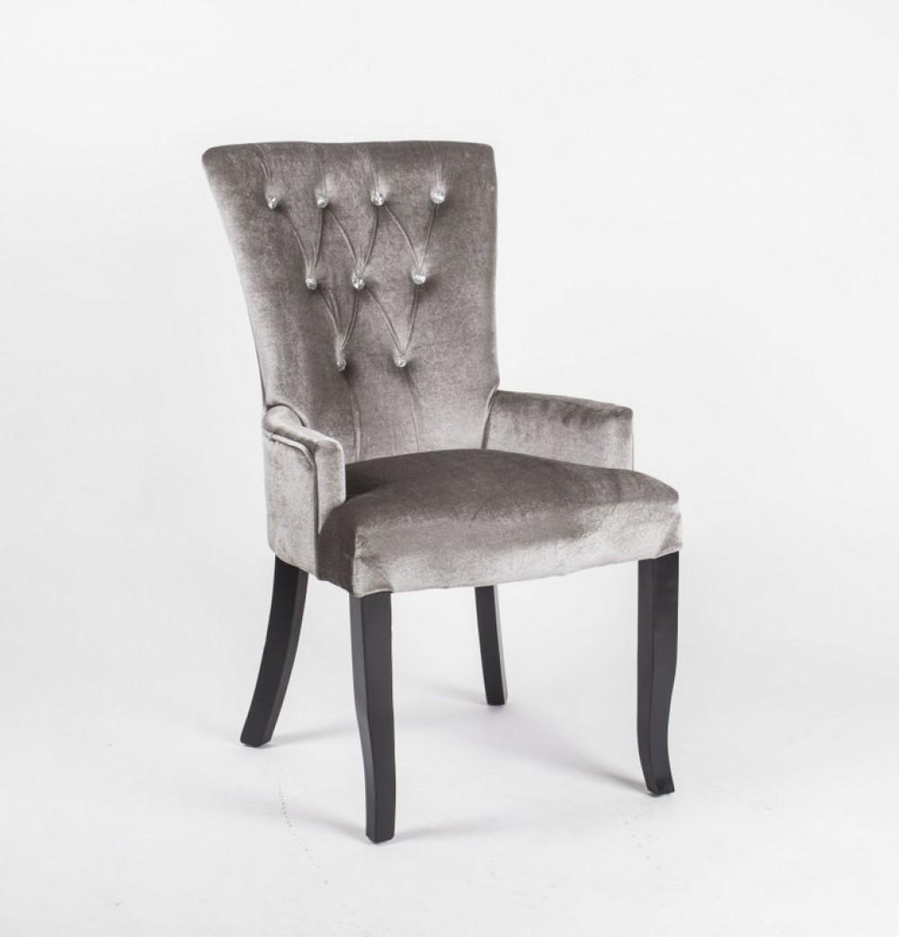 Stuhl gepolstert mit Armlehne Stuhl im Landhausstil