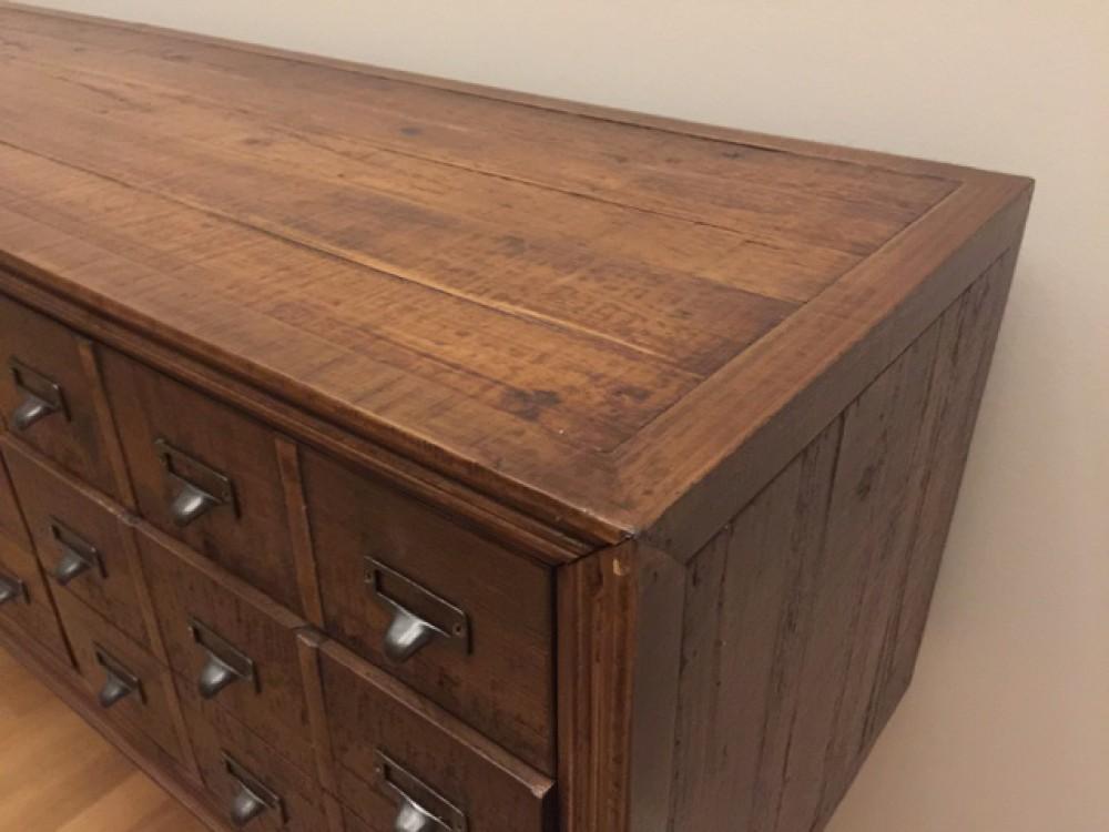 kommode altholz sideboard braun vintage anrichte massivholz breite 180 cm sideboards. Black Bedroom Furniture Sets. Home Design Ideas