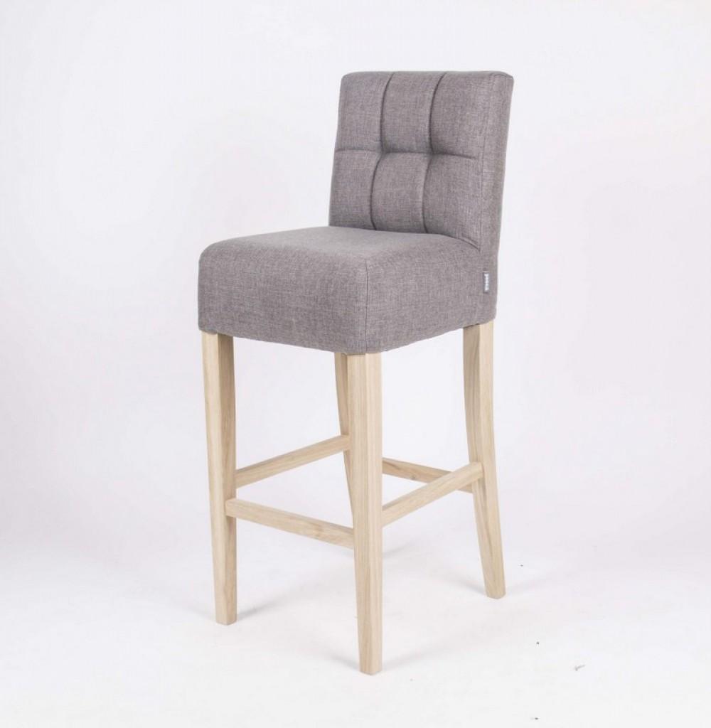 barhocker gepolstert tresenhocker farbe taupe barst hle tresenhocker landhaus stil m bel. Black Bedroom Furniture Sets. Home Design Ideas