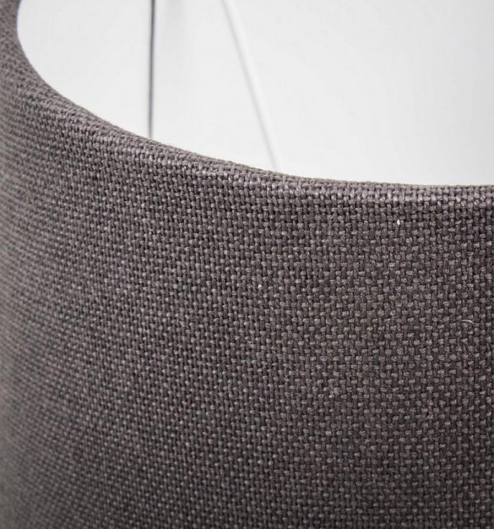 lampenschirm rund farbe grau 25 cm lampenschirme f r. Black Bedroom Furniture Sets. Home Design Ideas