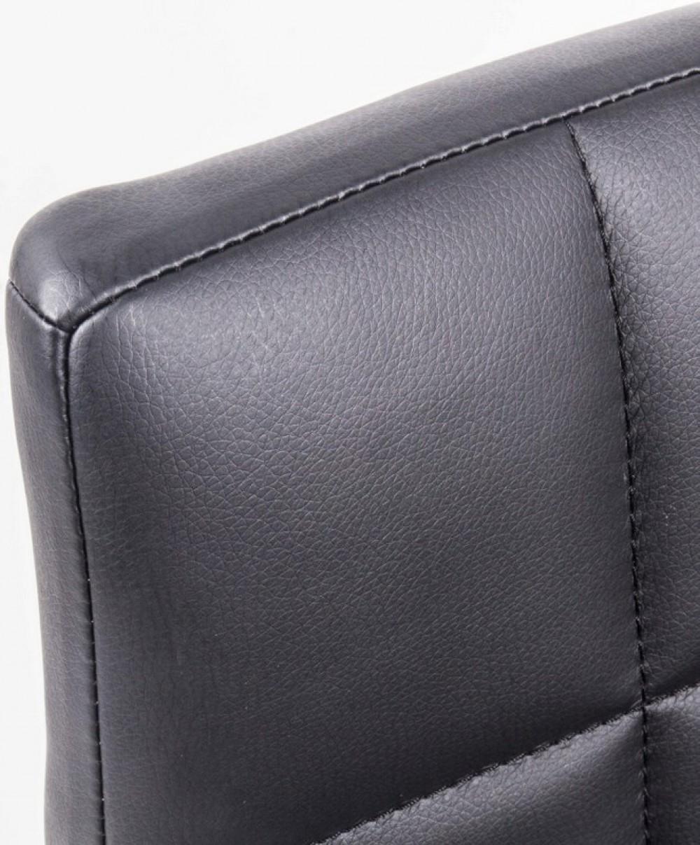 barstuhl schwarz chrom barhocker sitzh he 65 cm. Black Bedroom Furniture Sets. Home Design Ideas