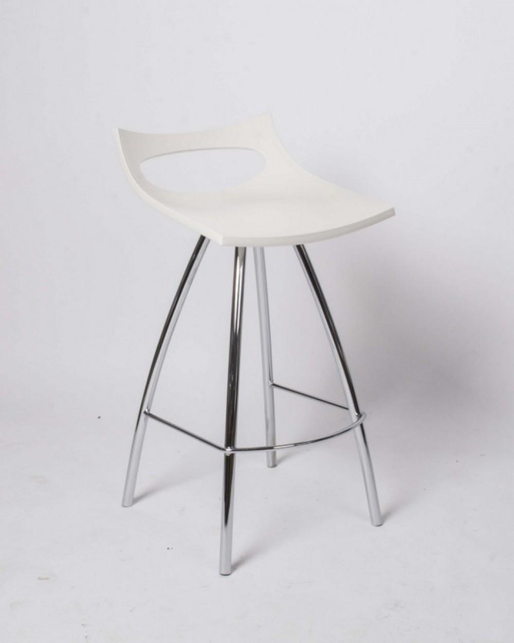 barstuhl wei barhocker modern sitzh he 65 cm. Black Bedroom Furniture Sets. Home Design Ideas