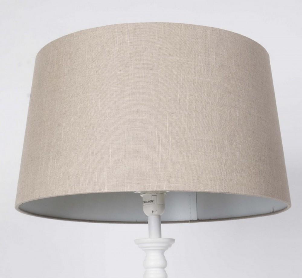 lampenschirm f r tisch oder stehleuchte rund farbe taupe. Black Bedroom Furniture Sets. Home Design Ideas