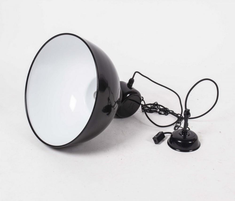 H ngeleuchte fabrikat l pendelleuchte industriedesign farbe schwarz 40 cm beleuchtung b ro - Pendelleuchte buro ...