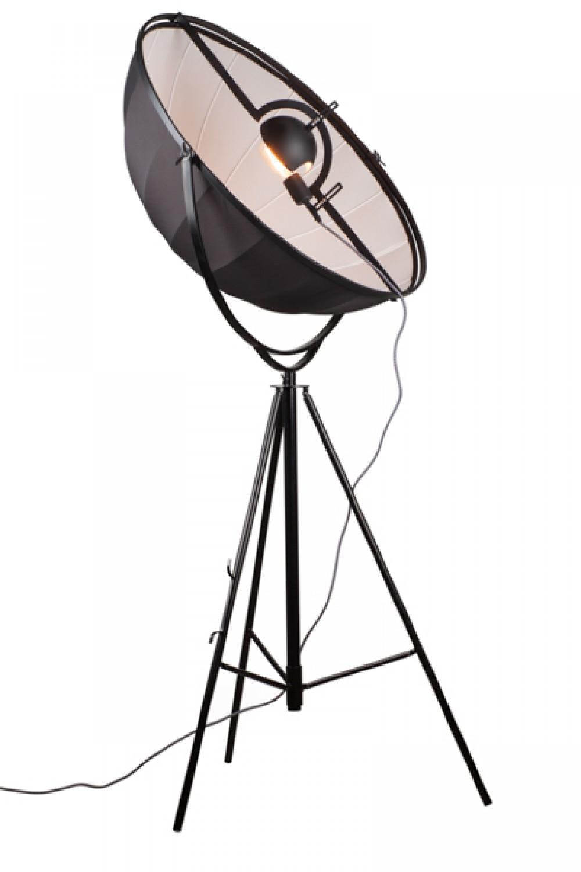 stehleuchten h henverstellbar farbe schwarz wei silber stehlampe durchmesser 90 cm. Black Bedroom Furniture Sets. Home Design Ideas