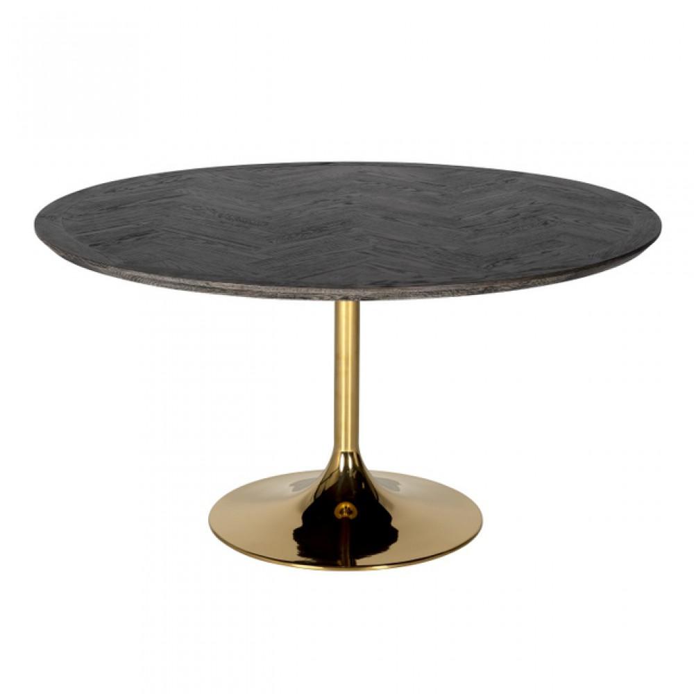 Esstisch Gold Schwarz Ausziehbarer Tisch Schwarz Tisch Rund Gold