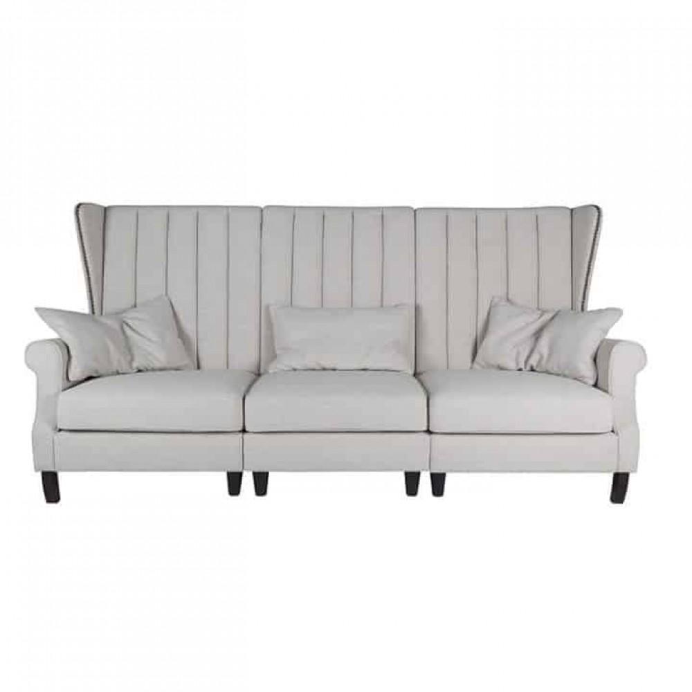 Couch 3 Sitzer Landhausstil Bank Sofa Landhaus Sitzbank Landhaus