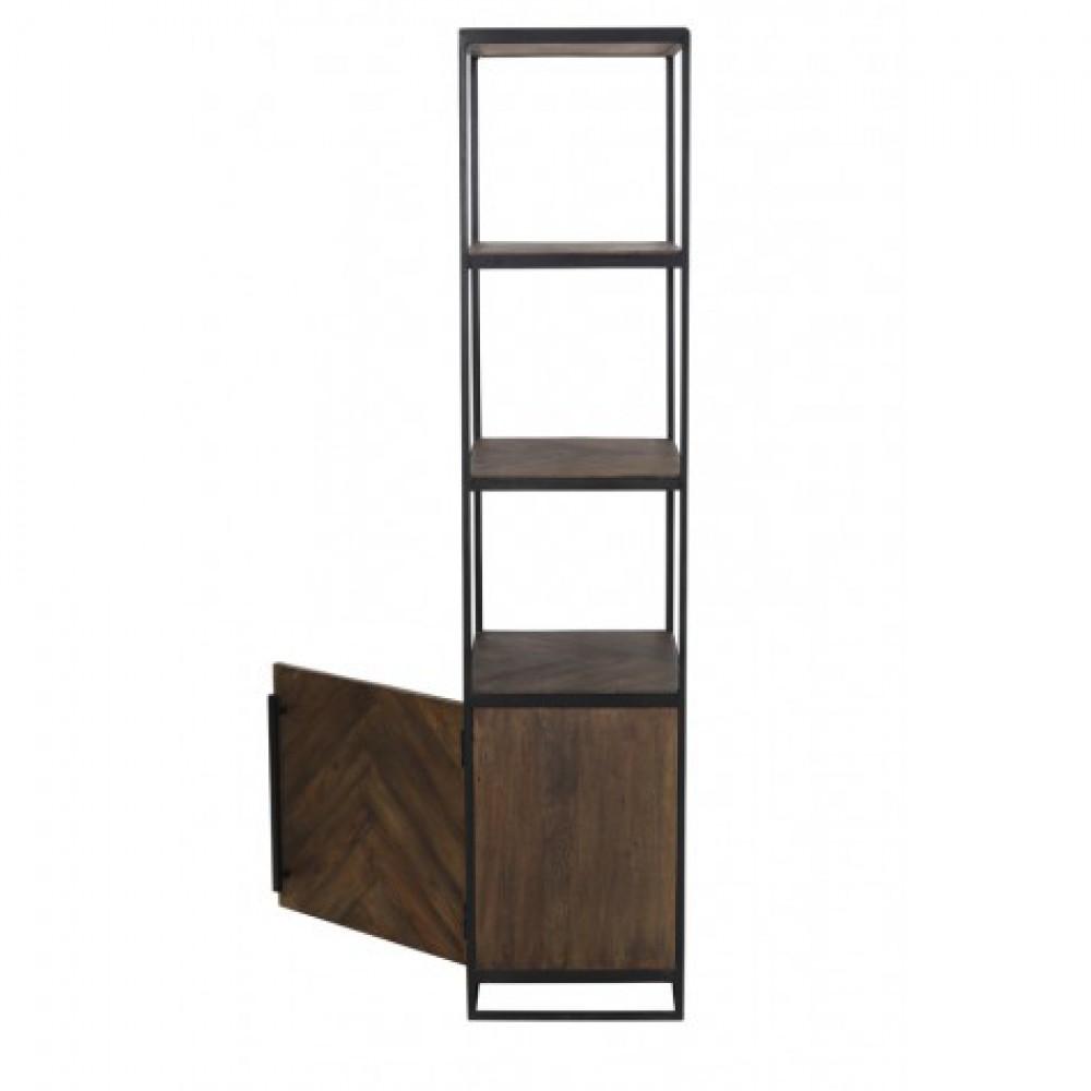 regal schwarz industriedesign metall regal metall holz. Black Bedroom Furniture Sets. Home Design Ideas