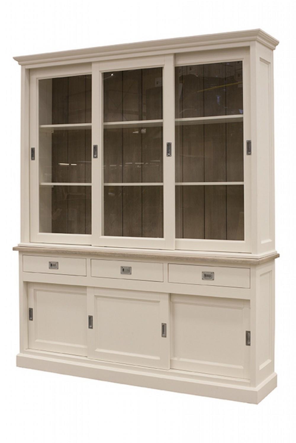 vitrine wei landhaus vitrinenschrank wei landhausstil geschirrschrank wei breite 180 cm. Black Bedroom Furniture Sets. Home Design Ideas