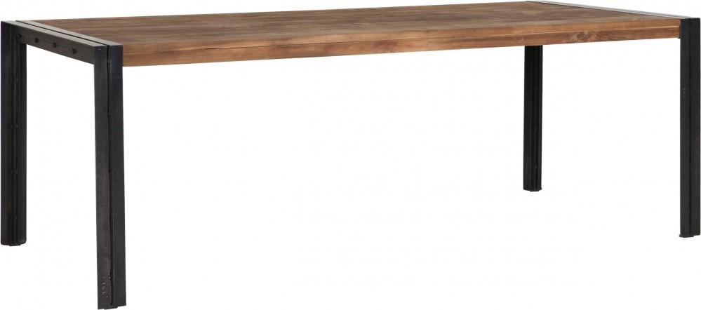 Tisch Industrie Holz Metall Esstisch Industriedesign Metall Lange
