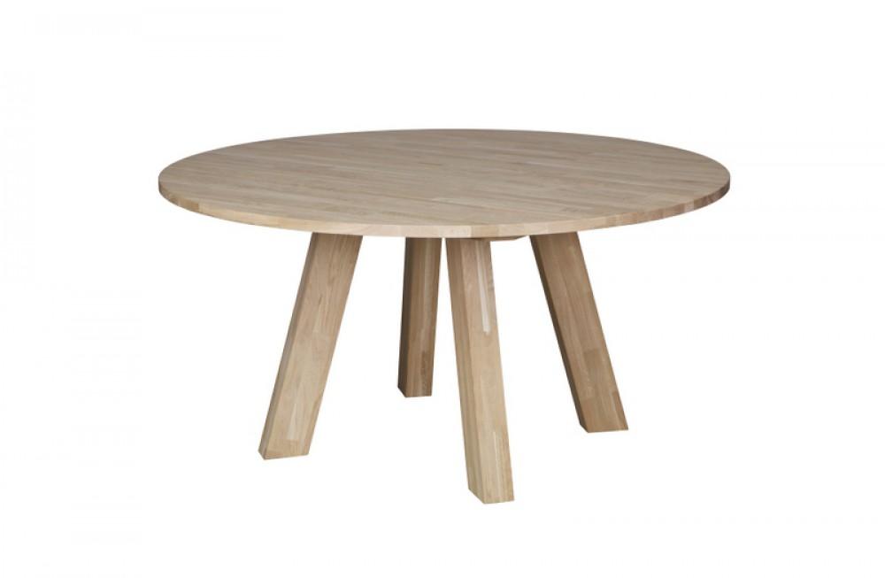 Tisch Rund Massivholz Esstisch Rund Eiche Massiv Durchmesser 150 Cm