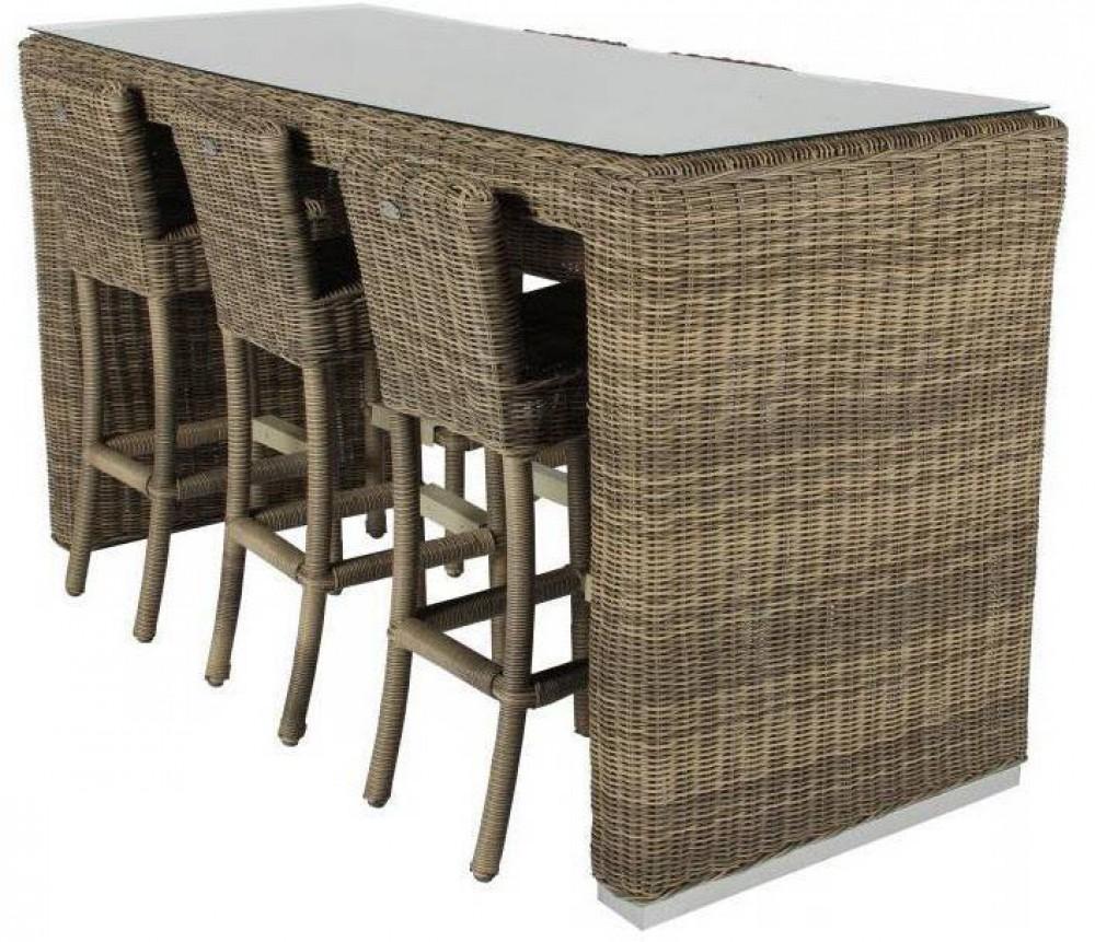 Garten Bartisch Mit Barstühlen Set Gartentisch Mit Sechs